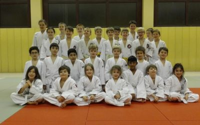 Ausflug zur Judo-Kindergruppe in Tempelhof