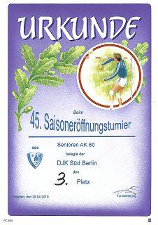 Turnier in Dresden