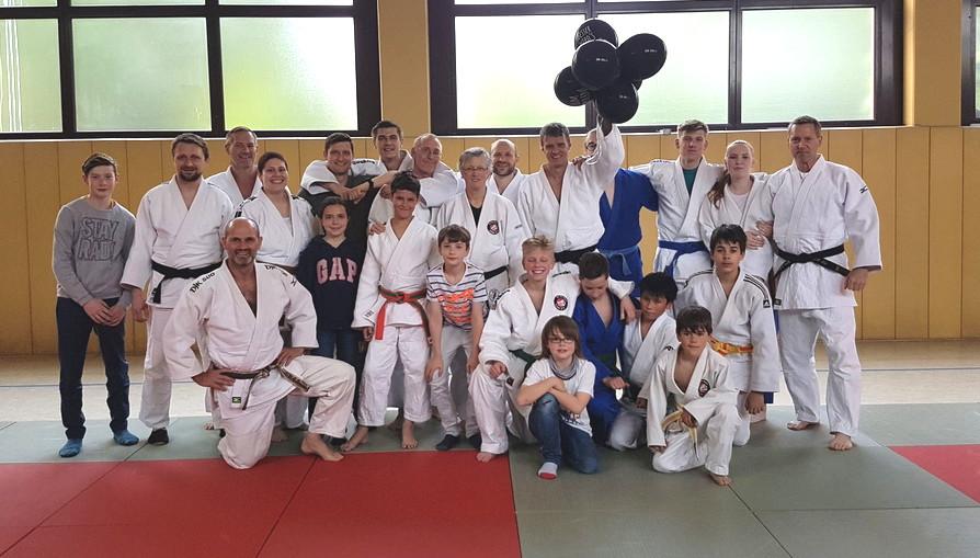 """Runder Geburtstag des """"Judo-Chefs"""""""