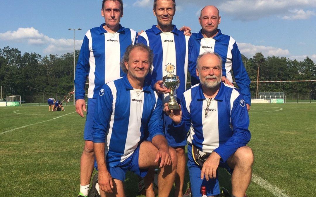 Männer AK 55 gewinnen Turnier in Potsdam
