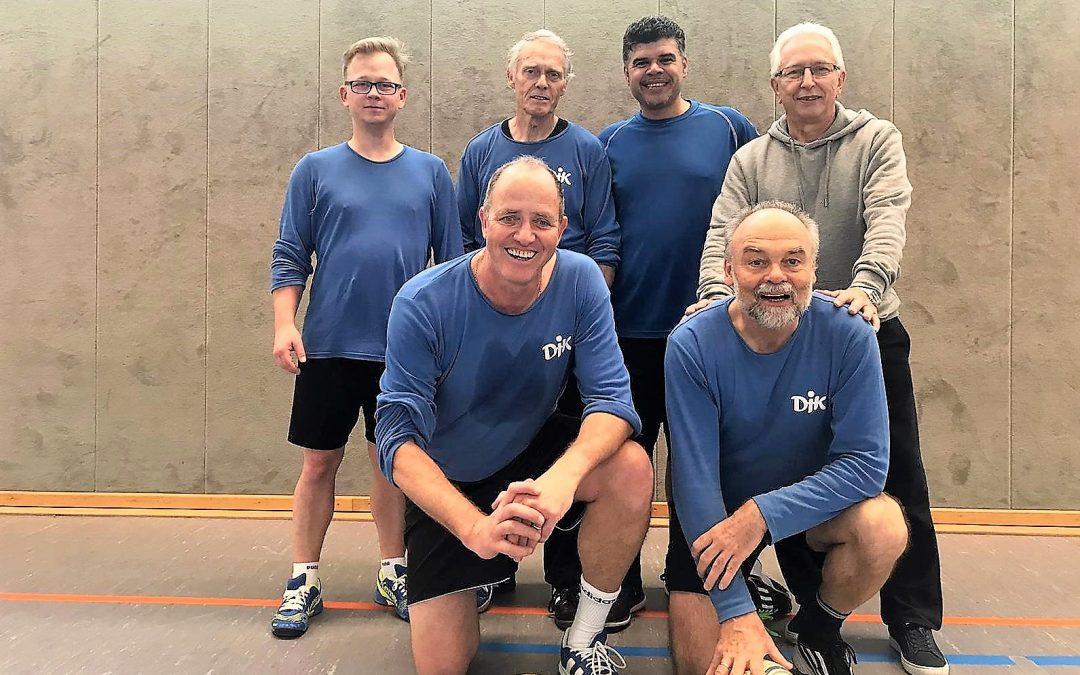 Bezirksliga als Mittelpunkt des Berliner Männer-Faustball