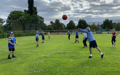 Faustball-Training-Start Juni 2020