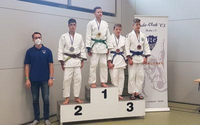 Erstes Judoturnier nach dem Lockdown beim JC 03